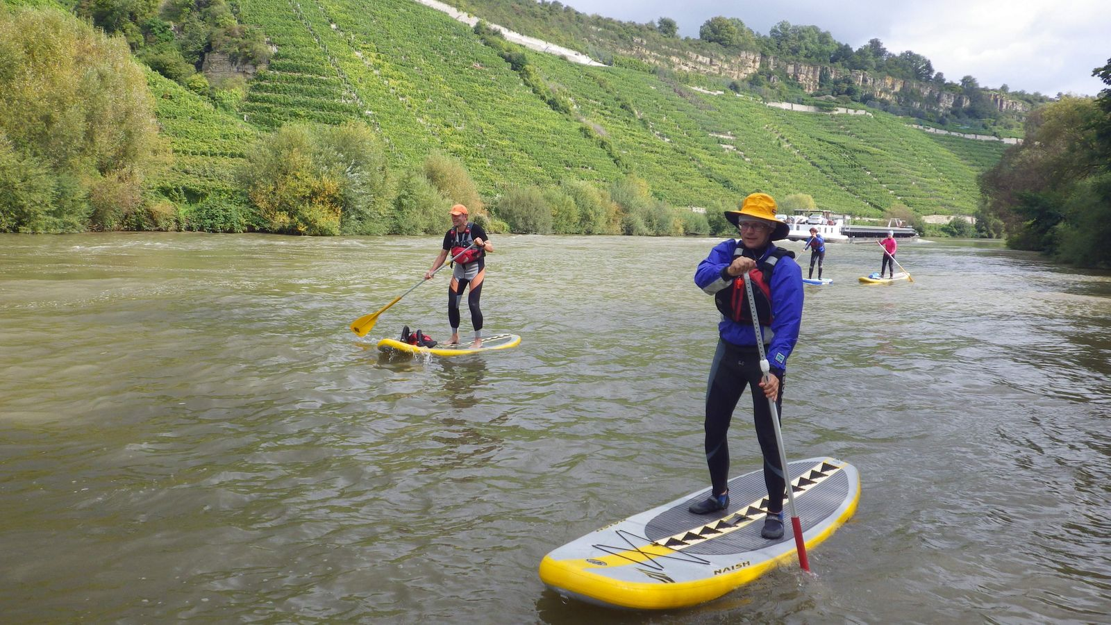 SUP Stehpaddler Standup Paddling